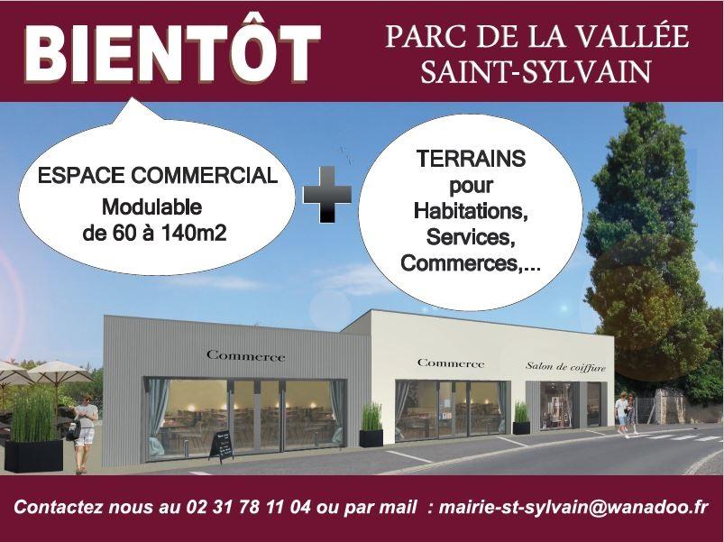 Parc de la Vallée – bâtiment commerces