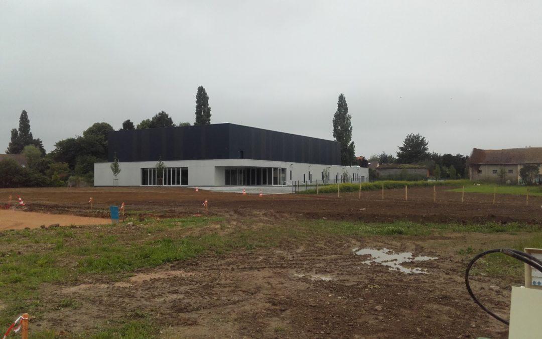 Progression des travaux d'aménagement du Parc de la Vallée [MàJ]