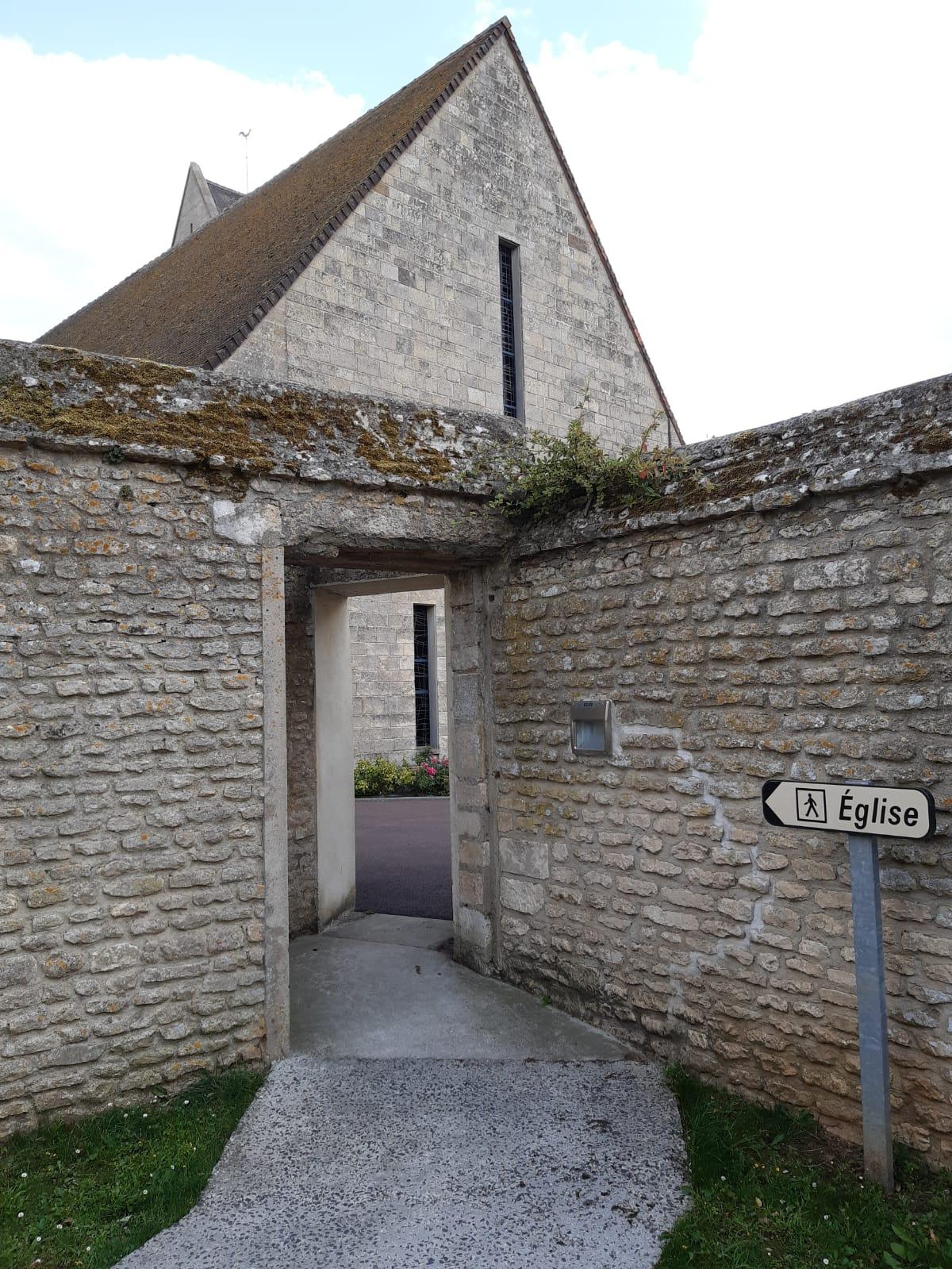 Accès Eglise / Mairie