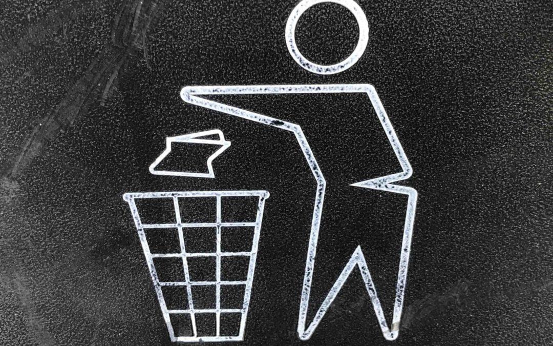 Présence de la benne à déchets verts