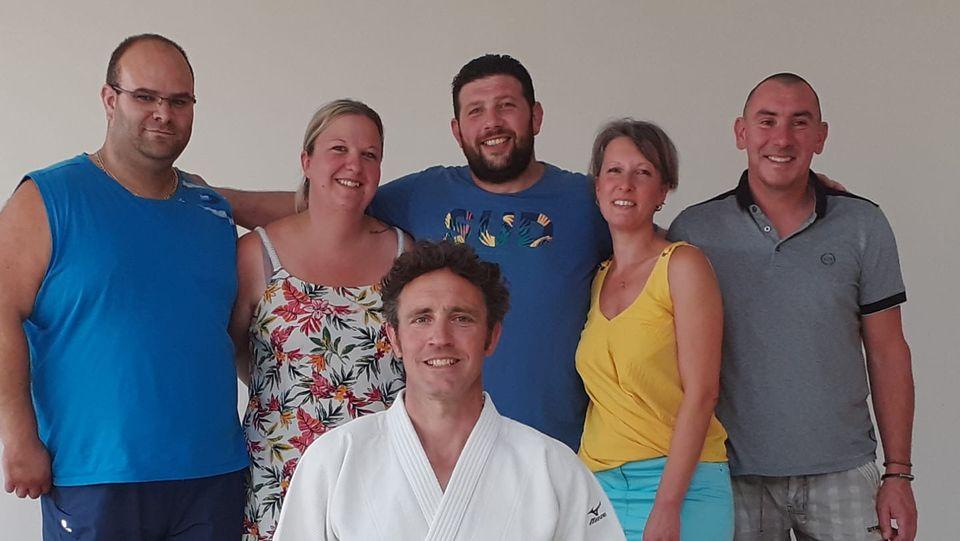 judo club cingal_équipe