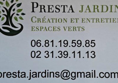 PRESTA JARDIN