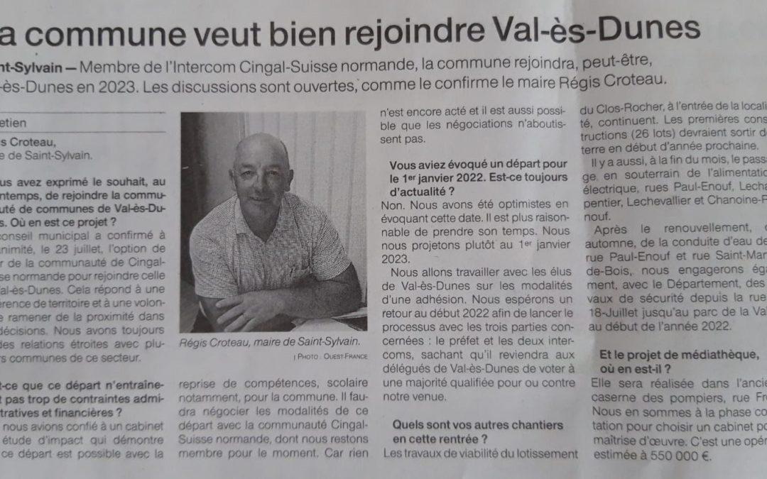 Etude d'impact : intégration à Val ès Dunes